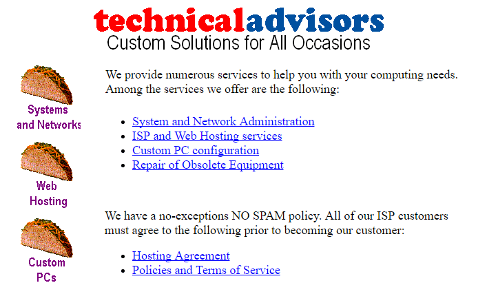 TACO - Technical Advisors Company, 1997