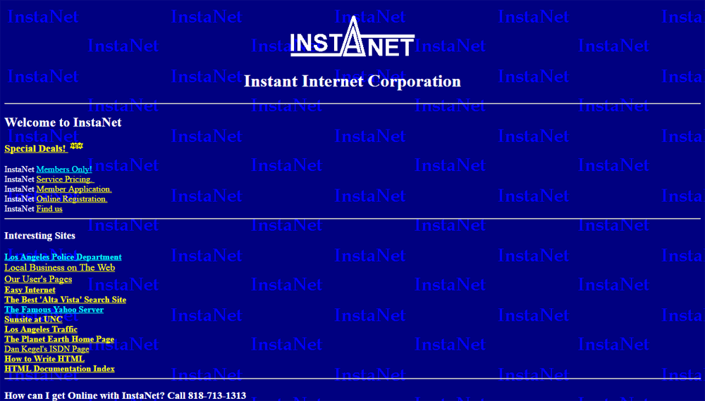 Instanet 1995