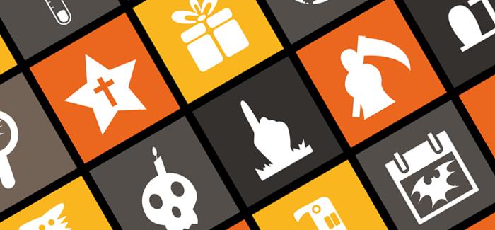6 наборов бесплатных флэт-иконок – готовимся к Хэллоуину