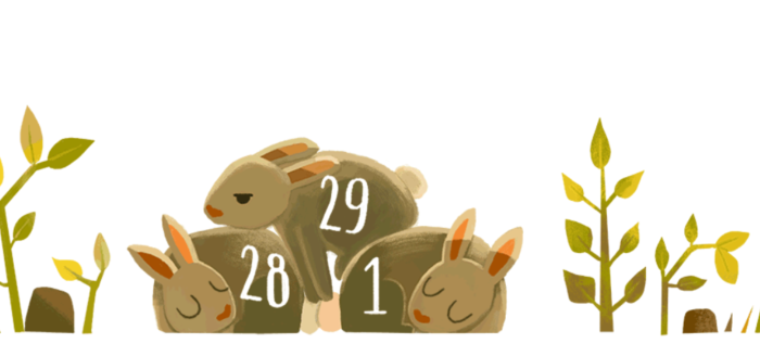 Google Doodle пролил свет на високосный год