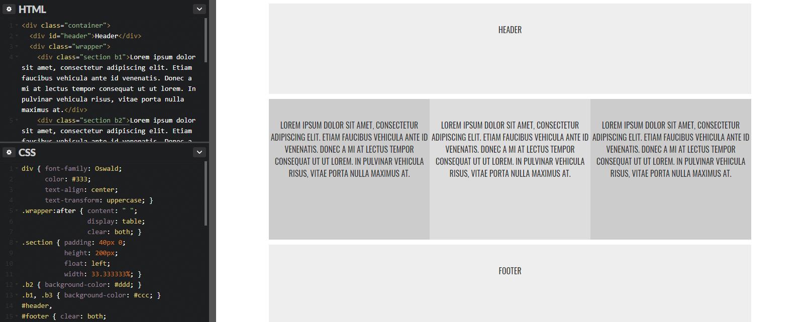 Проблемы с float-элементами: способы решения — учебник CSS
