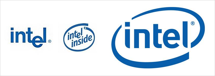 История логотипа Intel