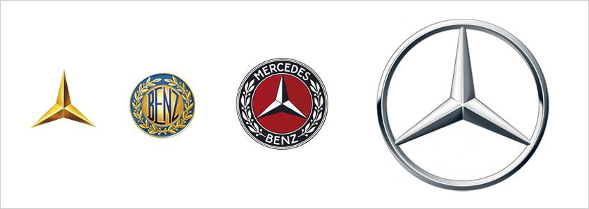 История фирменного знака Mercedes-Benz