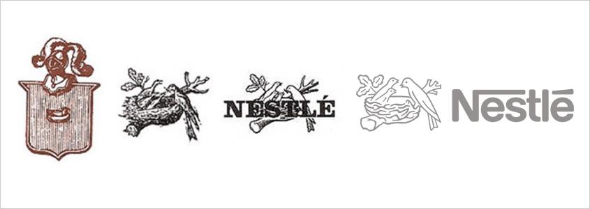 История создания фирменного знака Nestlé
