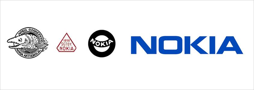 Эволюция логотипа Nokia