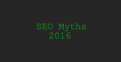SEO-мифы, которые стоит забыть в 2016