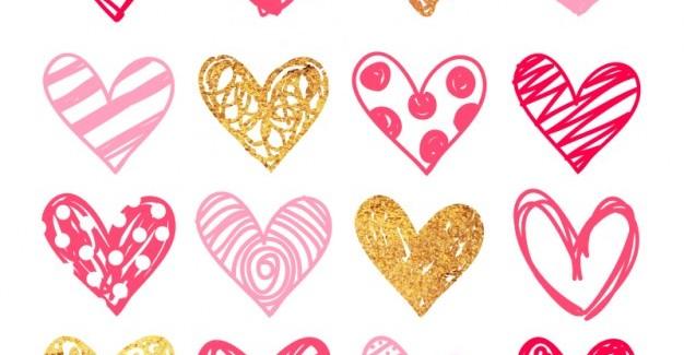 Векторная графика ко Дню влюбленных