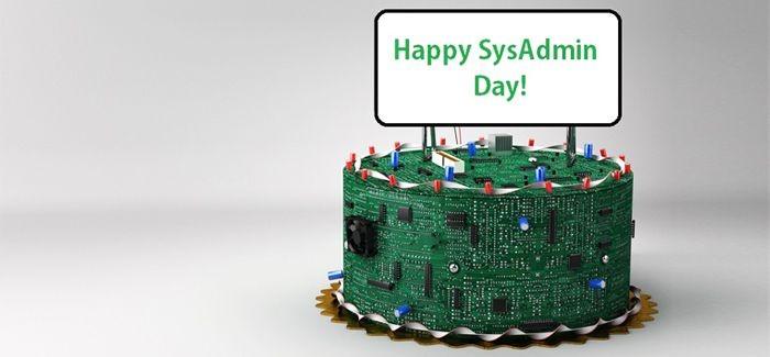 С Днем системного администратора!