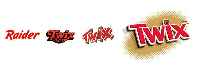 Логотип Twix, история