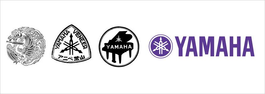 Эволюция логотипа Yamaha